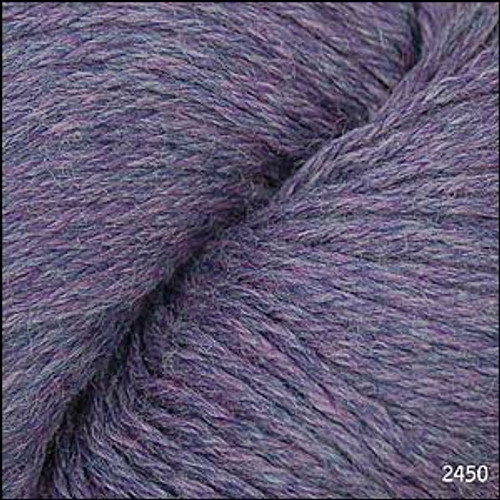 Cascade 220 Yarn - 100% Peruvian Wool - 2450 Mystic Purple
