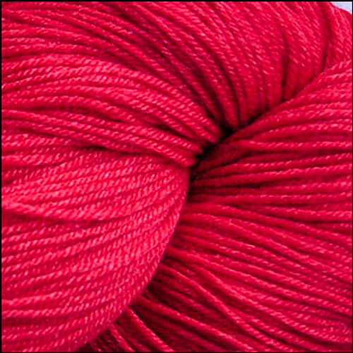 Cascade Heritage Silk Yarn #5619 Christmas Red