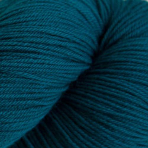 Cascade Heritage Silk Yarn Como Blue #5655