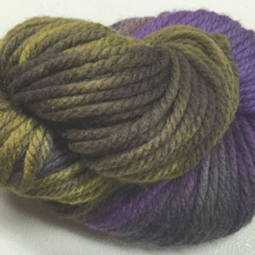 Done Roving Frolicking Feet Chunky Lavender Sage #08