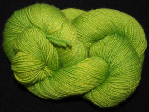 Frolicking Feet Chartreuse 100% SUPERWASH Sock Wool 480 yards