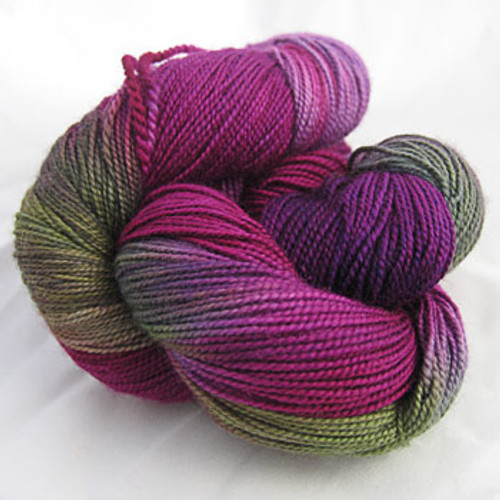 Frolicking Feet Lady Slipper 100% SUPERWASH Sock Wool 480 yards