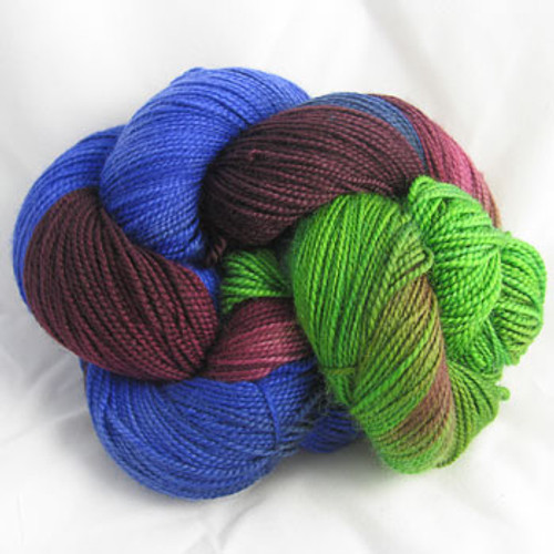 Frolicking Feet Plum Tree 100% SUPERWASH Sock Wool 480 yards