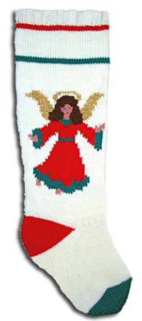 Googleheim Christmas Angel (Kit includes yarn for light hair or dark hair.)
