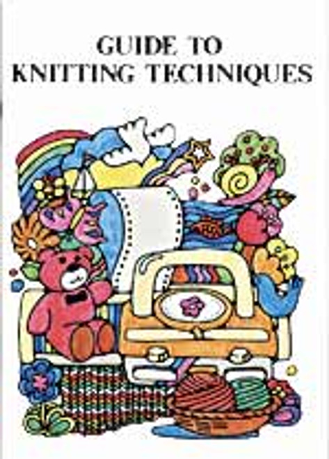 Guide to Machine Knitting Techniques Book