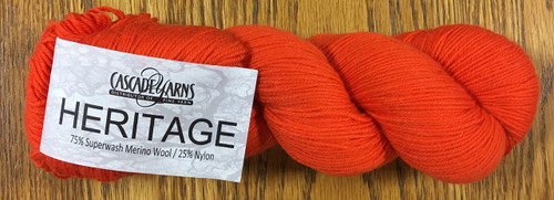 Cascade Heritage Yarn - Carrot 5725