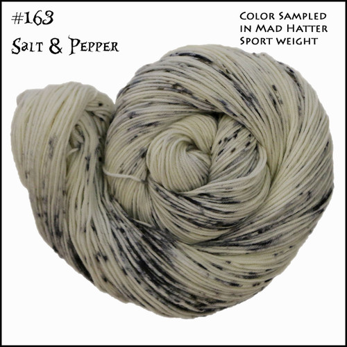 Frabjous Fibers: Wonderland Yarns - March Hare -  Salt & Pepper 163