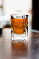 Crystal Ballroom Etched Shot Glass