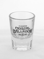 "Crystal Ballroom ""Est. 1914"" Shot Glass"