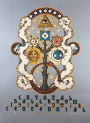 Crystal Ballroom Centennial Gary Houston Poster