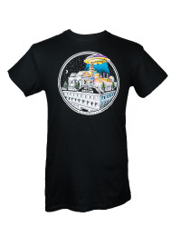 Hotel Oregon UFO Roof Top T-Shirt