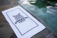 Anderson School Bobcat Beach Towel