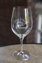Edgefield Winery Red Wine Glass
