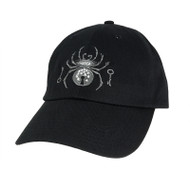Black Widow Embroidered Hat