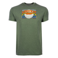 Sandtrap Golfball Planet T-Shirt