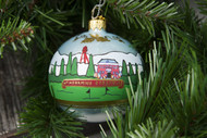 Edgefield Painted Ornament