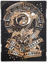 Crystal Ballroom Dead Moon Guy Burwell Poster