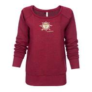Flame Sun Ladies Sweatshirt