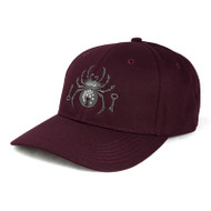 Black Widow Embroidered Hat - New