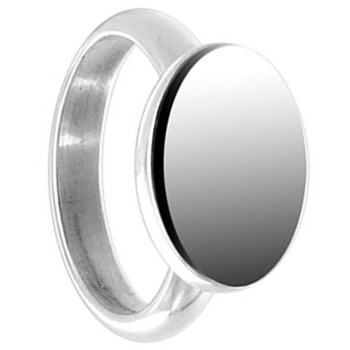 925 Sterling Silver Engravable 10 x 15mm Oval Ring