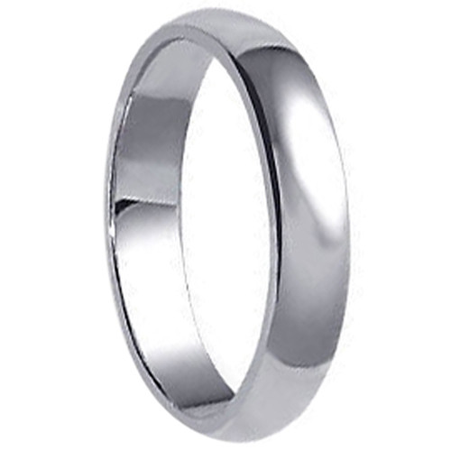 925 Sterling Silver 5mm Wide Wedding Band