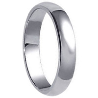925 Plain Sterling Silver 5mm Wide Wedding Band #jc-a20-35
