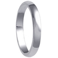 925 Plain Sterling Silver 3mm Wide Wedding Band #jc-a20-37