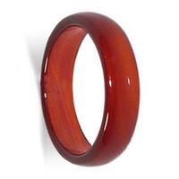 Carnelian Gemstone 6mm Band  #KJR018