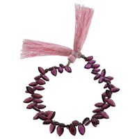 Rhodolite Marquise Beads