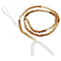 Hessonite Israel Cut Beads