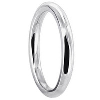 925 Plain Sterling Silver 1.5mm Wedding Band #LWRS140