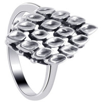 925 Sterling Silver Polished Finish Ring #LWRS162