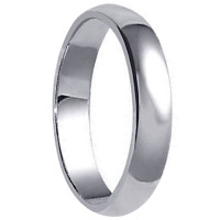 Men's 925 Plain Sterling Silver 7mm Wedding Band #LWRS164