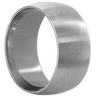 Stainless Steel Engravable Plain 9mm Band #LWSSR014