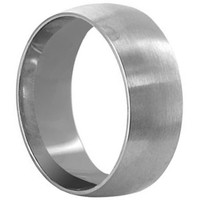 Stainless Steel Engravable Plain 7mm Band #LWSSR017