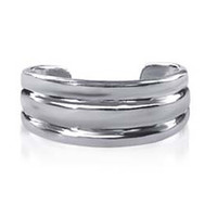 925 Plain Sterling Silver 6mm Toerings #LWTS008
