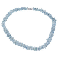 Blue Chips 10mm wide Necklace 18 inch #FFNK003