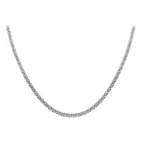 Stainless Steel 2.2mm wide Rolo Chain Necklace #ANNK013