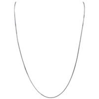 Italian 925 Sterling Silver 1mm Sturdy Snake Chain Necklace