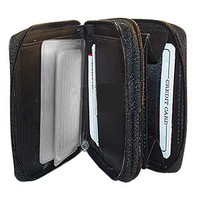 Multipurpose Leather Wallet Credit Card Holder