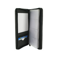 Leather Business Card Holder 5 x 10 inch Wallet Available in Different Colors