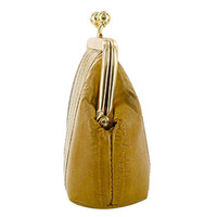 Smooth Eel Skin Leather Coin Purse Available in Different Colors #MW30539