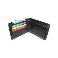 Genuine Leather Hand Made Bifold Wallet
