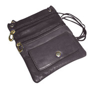 Genuine Leather Travel Purse General Purpose Shoulder Bag Available in Different Colors
