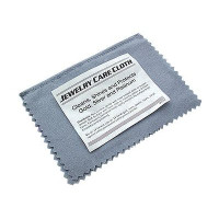 Sterling Silver Jewelry Instant Cleaning & Polishing Cloth Restores Shine