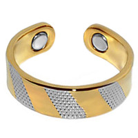 Two Tone Magnetic Band Fits Size 7 & Above #JRM28