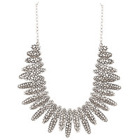 Zinc Oxidised Patterns 19 to 21.5 Inch Necklace Adjustable with Chain