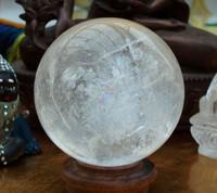 Clear quartz sphere 2.75' (1297341044)