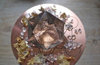 Smokey quartz Hexagram Star of David (1446476665)
