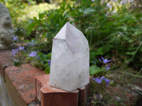 Lepidolite in quartz Phantom (9185)